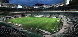 Instalação de grama sintética no estádio do Palmeiras começa nesta semana