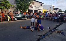 O caso aconteceu na Avenida Cabo Reis, no bairro da Ponta Grossa