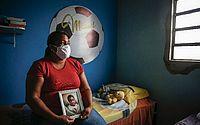 'Quero que ela (Sarí) seja condenada, presa, que pague pelo que fez com meu filho', diz Mirtes Renata, mãe do menino Miguel. (Foto: Paulo Paiva/DP.) 'Quero que ela (Sarí) seja condenada, presa, que pague pelo que fez com meu filho', diz Mirtes Renata