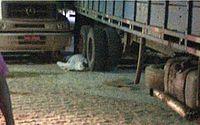 Ao manobrar caminhão, motorista atropela o próprio irmão em Porto Calvo