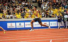 Aldemir Júnior é campeão da prova dos 200m nos 7º Jogos Mundiais Militares