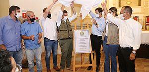Prefeito Cacau e Ministro do Turismo, Gilson Neto, reinauguram a Igreja de Nossa Senhora do Rosário dos Homens Pretos