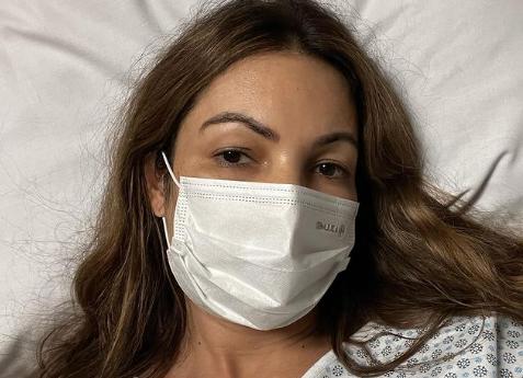 Apresentadora tem 44 anos e passou por procedimento de emergência
