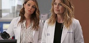Ellen Pompeo interpreta a Dra. Meredith Grey na série 'Grey's Anatomy'