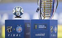 Ceará e Bahia decidem hoje o título da Copa do Nordeste 2020
