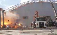Vídeo mostra explosão que teria causado estrondo no bairro do Canaã