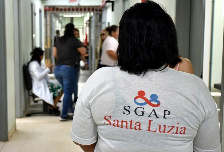 Reeducandas receberam serviços da saúde nesta terça