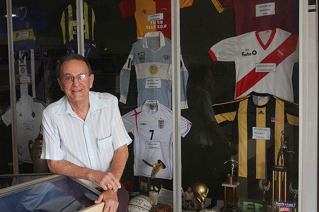 Lauthenay Perdigão reuniu, no Museu do Esporte, vasto acervo da memória esportiva alagoana e nacional