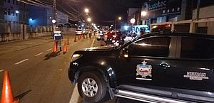Lei Seca prende três condutores e retira outros 22 de circulação por embriaguez ao volante