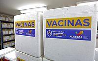Covid: municípios de Alagoas vão receber mais de 25 mil doses de vacina; veja quantidade por cidade