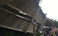 Após vistoria, terminal de ônibus atingido por queda de árvore é interditado