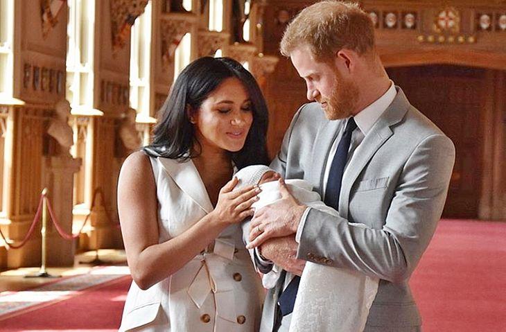 Príncipe Harry e Meghan Markle revelam o nome do filho