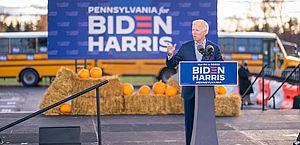 Biden aumenta vantagem sobre Trump em estados-chave, aponta pesquisa