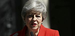 Theresa May anunciou renúncia após impasse com Brexit