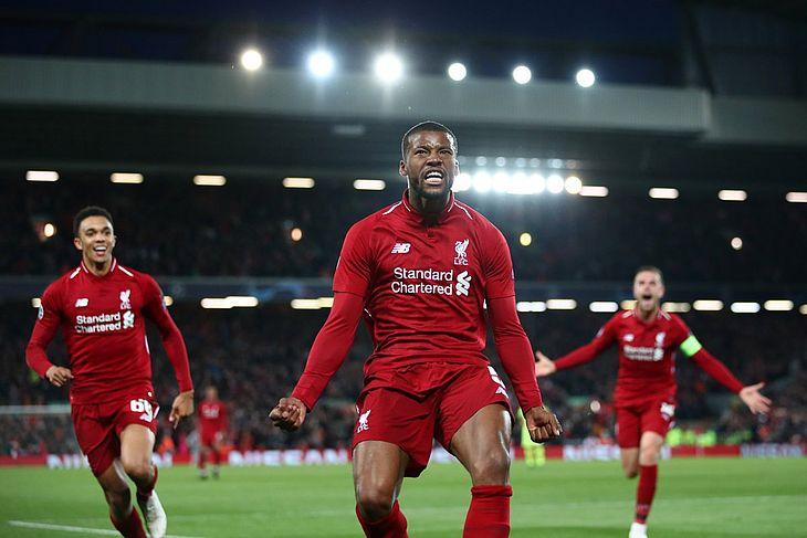 Virada histórica classifica o Liverpool diante do Barcelona na Inglaterra