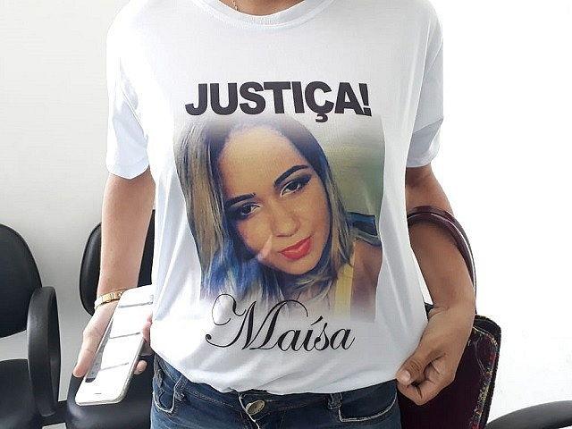 Maísa Varjão foi morta na frente do filho