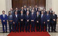 Tutmés Airan e demais presidentes de Tribunais de Justiça discutem o aperfeiçoamento do Judiciário