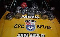 Polícia prende suspeito de tráfico e apreende 10 kg de maconha, em Maceió