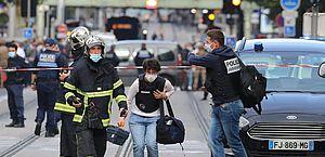 Ataque com faca em Nice, na França, deixa três mortos e vários feridos