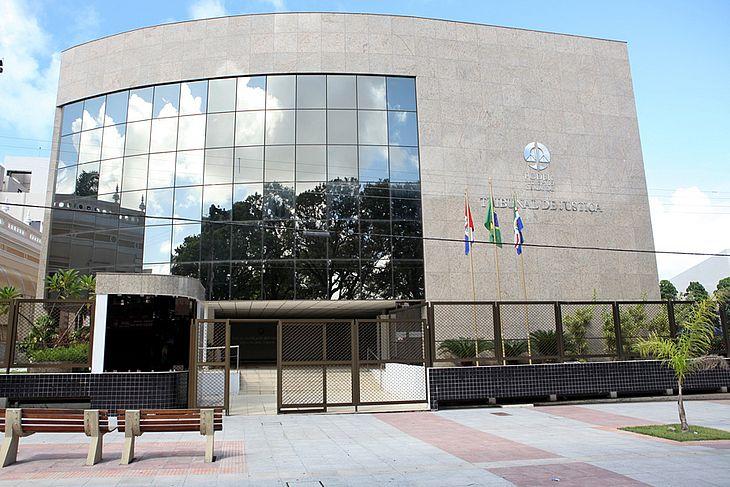 Sede do Tribunal de Justiça de Alagoas, no Centro de Maceió