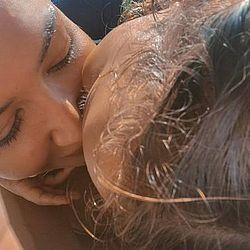 Última foto publicada por Naya Rivera em seu Instagram, na qual ela aparece com o pequeno Josey