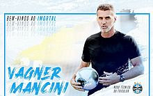 Grêmio anuncia Vagner Mancini como novo treinador