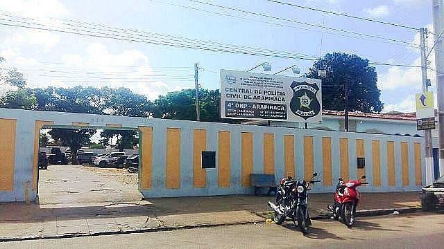 O homem foi conduzido à Central de Flagrantes de Arapiraca
