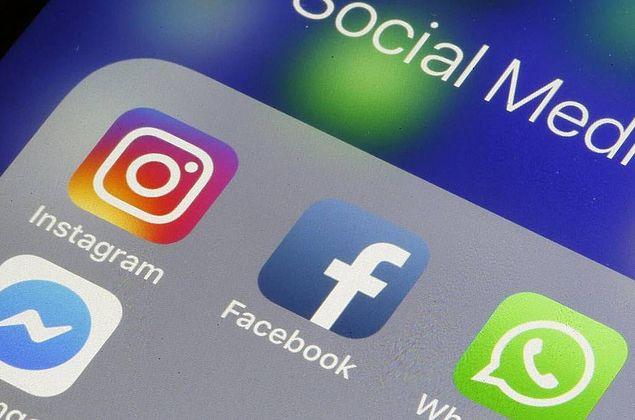 Usuários relatam instabilidade no Facebook, Instagram e WhatsApp