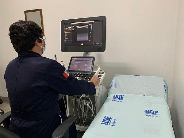 No Hospital Metropolitano de Alagoas, novo aparelho de ultrassom, vai melhorar o diagnóstico dos pacientes atendidos