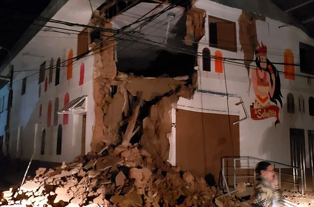 Tremor de magnitude de 8,1 graus abala noroeste do Peru