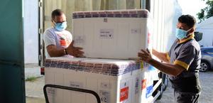Alagoas recebe 72.990 doses de vacinas contra a Covid-19 nesta terça-feira (28)