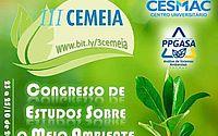 III Congresso de Estudos sobre o Meio Ambiente – CEMEIA acontece este mês