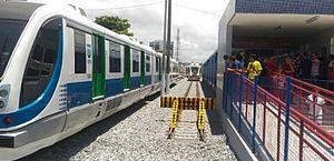 CBTU anuncia novos horários de viagens de trem a partir desta quarta-feira