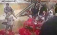 Imagens registraram agressão