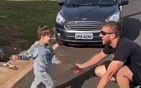 Vídeo: Zé Neto volta para casa após contrair novo coronavírus, e mostra reação do filho