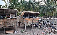 Moradores e turistas denunciam acúmulo de lixo em Milagres, destino turístico do estado