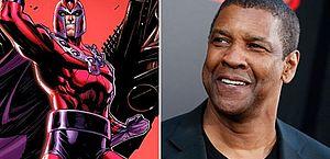 Denzel Washington pode ser Magneto em refilmagem de 'X-Men', diz site