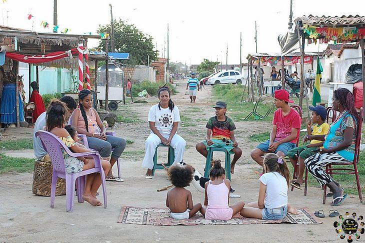 Projeto Maracatu na Comunidade