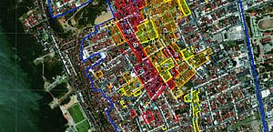 Mapa com identificação das vias foi disponibilizado pelo Serviço Geológico do Brasil