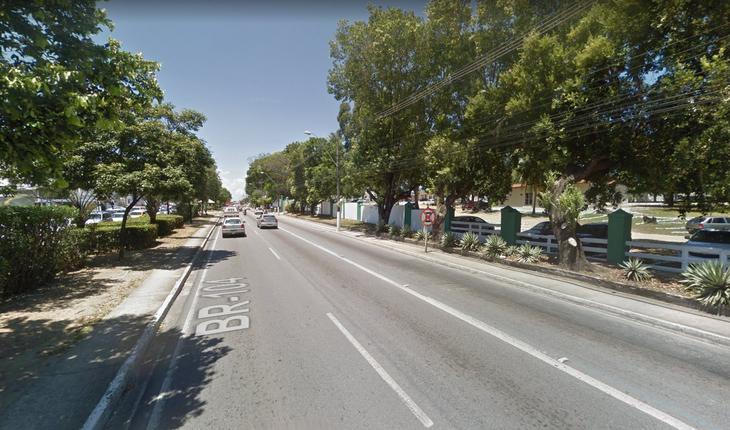 Avenida Fernandes Lima, em Maceió