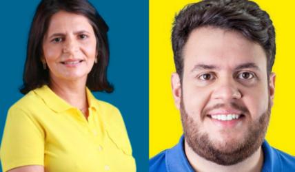 Sandra Paes (DEM), em Canhotinho, e Alvinho Porto (DEM), em Quipapá, estarão a apenas 27 km um do outro a partir do dia 1 de janeiro de 2021