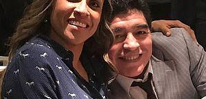 Marta presta homenagem a Maradona: 'Gratidão por ter a honra de ter conhecido você'