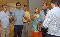 Prefeito Rui Palmeira visita hotel que vai gerar 40 empregos diretos