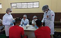 Peritos criminais retomam coletas de DNA em reeducandos condenados