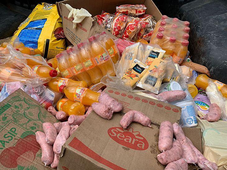 Produtos foram recolhidos de supermercados, frigoríficos e panificações nas partes alta e baixa de Maceió
