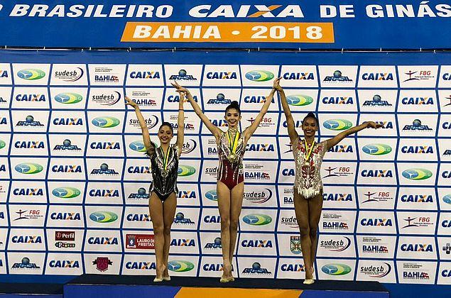 Alagoana conquista duas medalhas de ouro em Campeonato Brasileiro de Ginástica Rítmica