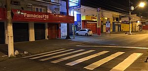 Prefeitura inicia serviços de sinalização na Rua Cabo Reis