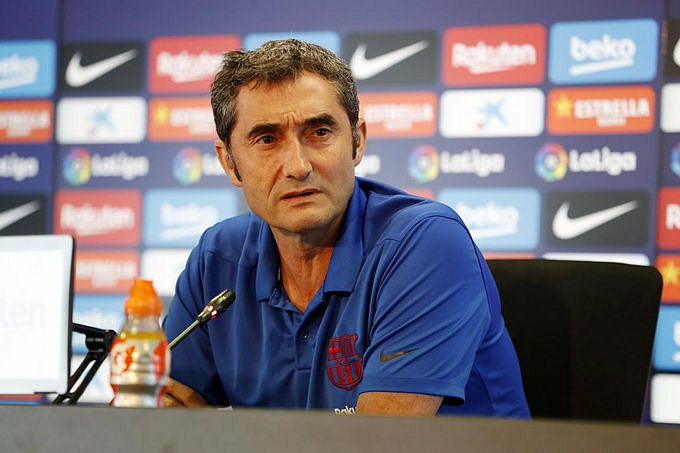 Técnico Ernesto Valverde