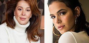 Sincera, Claudia Raia diz o que pensa sobre a nora, Bruna Marquezine