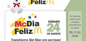 Apala participa do McDia Feliz 2019